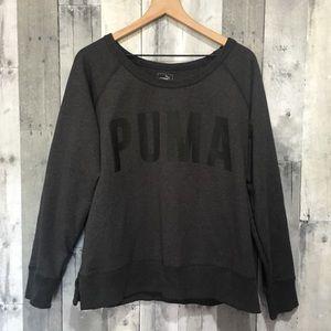 Puma Dry Cell Long Sleeve Dark Gray Pullover